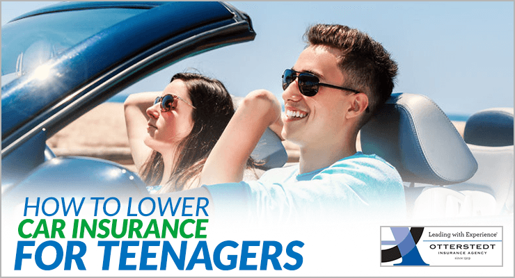 how to lower car insurance for teenagers otterstedt insurance agency. Black Bedroom Furniture Sets. Home Design Ideas