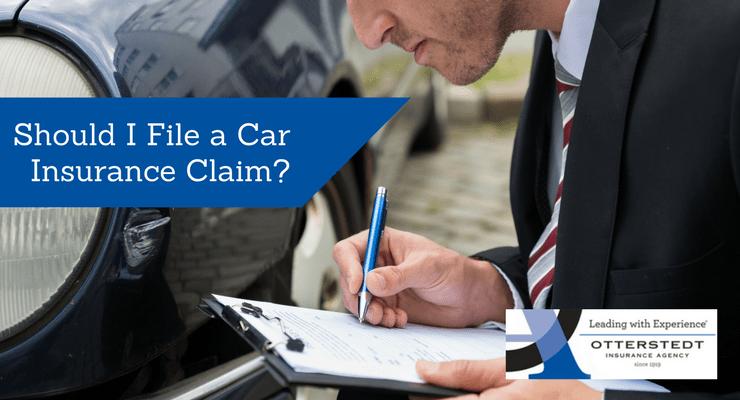 Should I File a Car Insurance Claim?