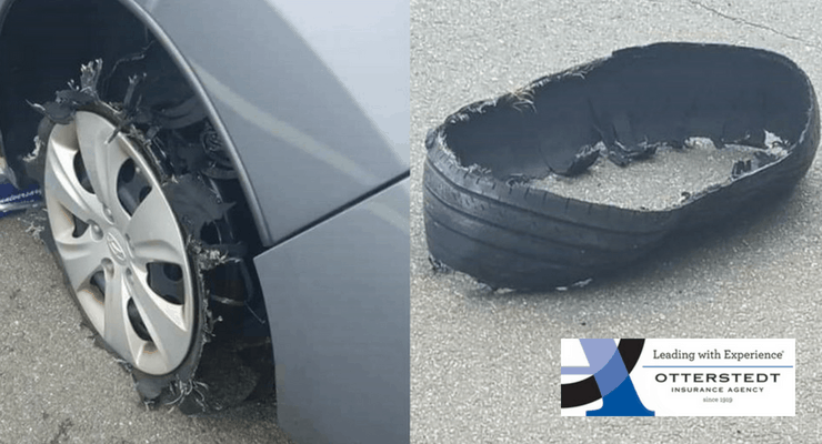 Tire Blow Out