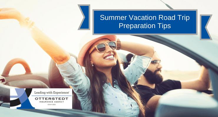 Summer Vacation Road Trip Preparation Tips
