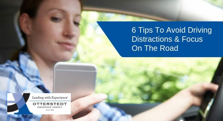 6 Tips To Avoid Driving Distractions & Focus On The Road