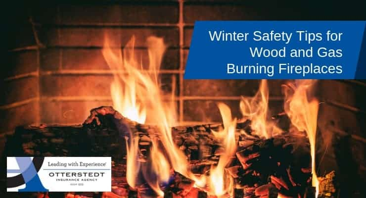 Winter Safety Tips for Wood and Gas Burning Fireplaces