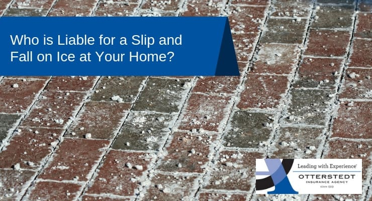 Who is Liable for a Slip and Fall on Ice at Your Home?