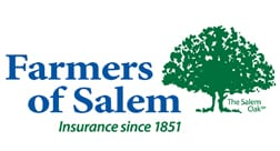 Farmers of Salem Insurance Logo