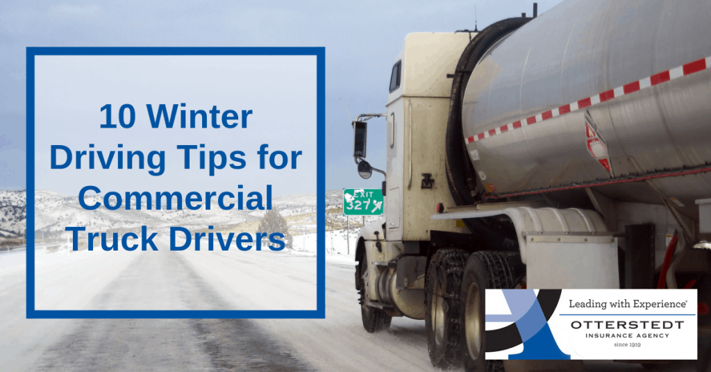 10 Winter Driving Tips for Commercial Truck Drivers