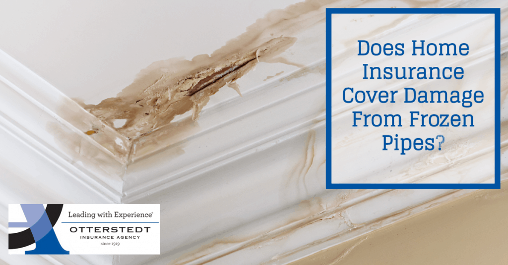 Does Home Insurance Cover Damage From Frozen Pipes?